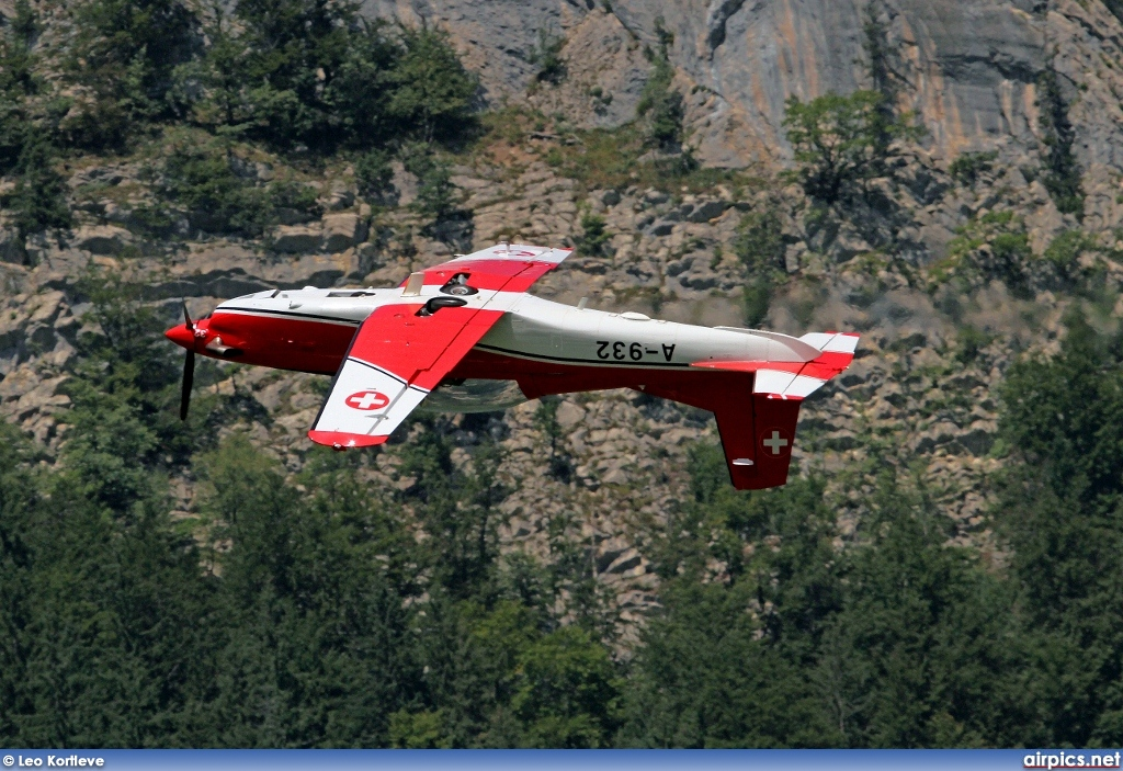 A-932, Pilatus PC-7, Swiss Air Force