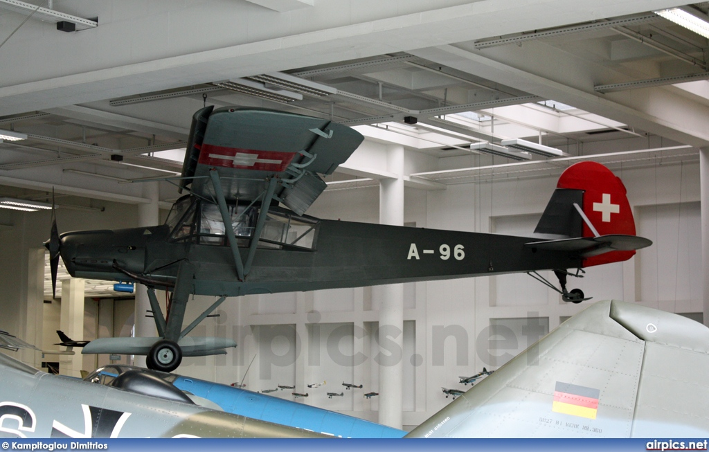 A-96, Fieseler  Fi-156C-3 Storch, Swiss Air Force