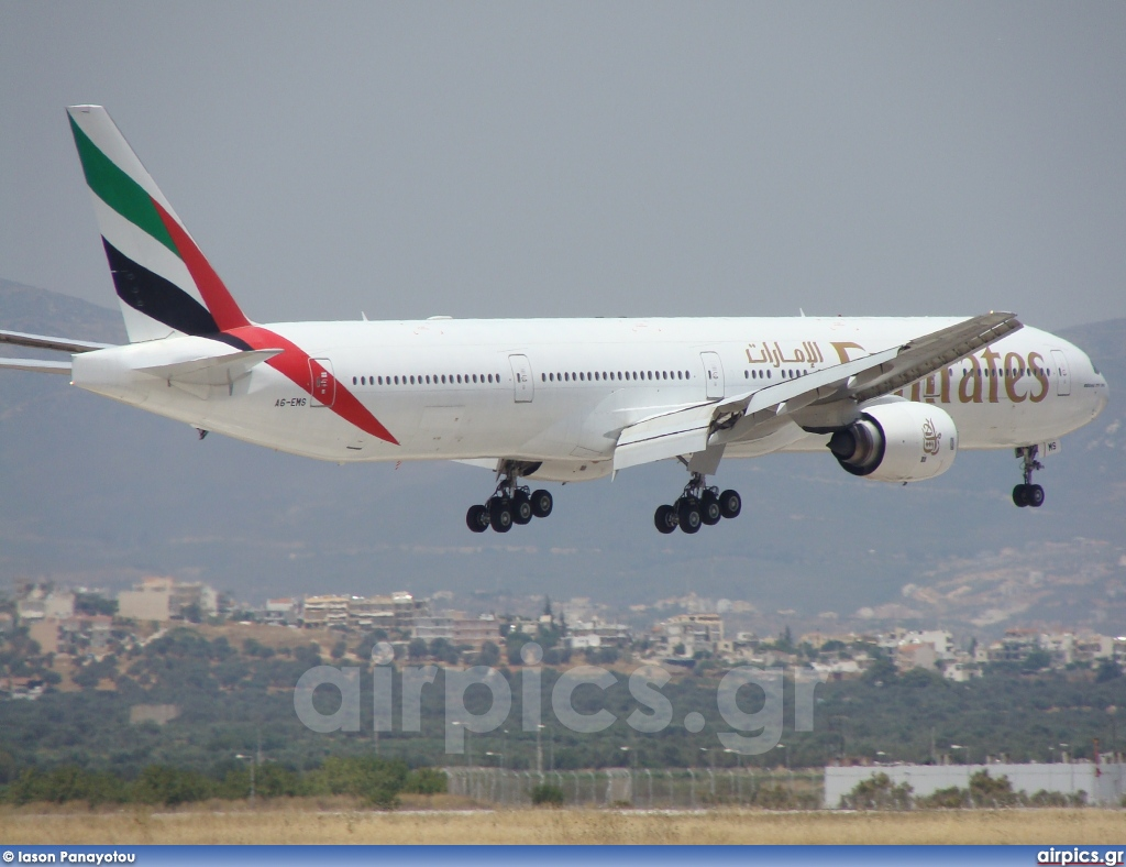 A6-EMS, Boeing 777-300, Emirates