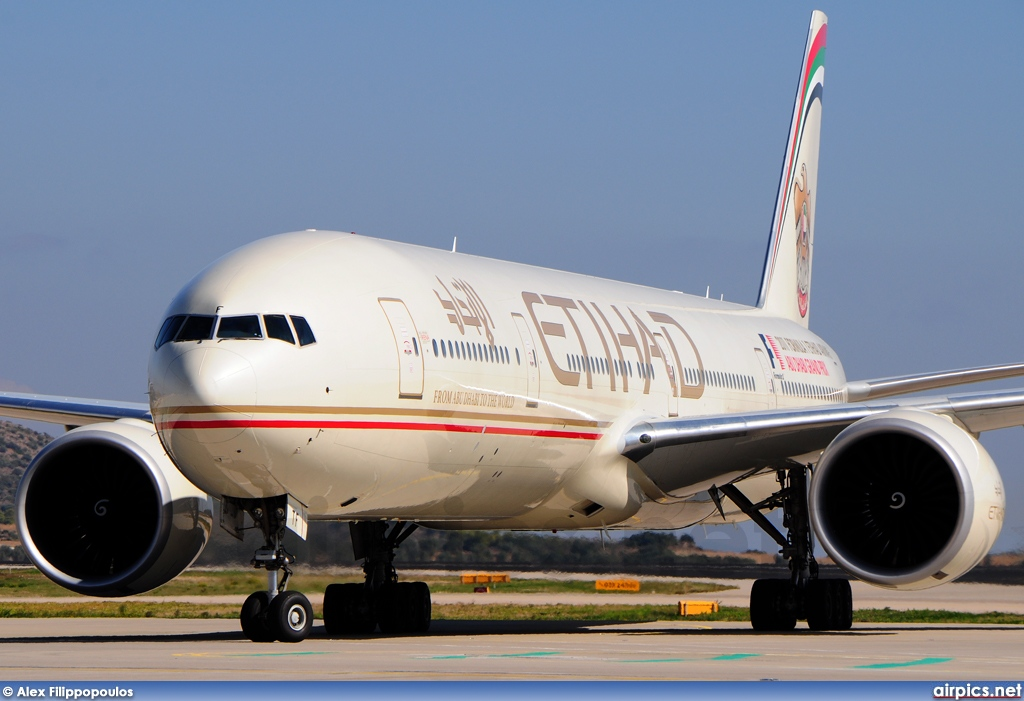 A6-ETF, Boeing 777-300ER, Etihad Airways