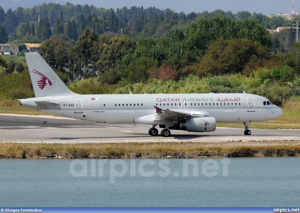 A7-AAG, Airbus A320-200, Qatar Airways