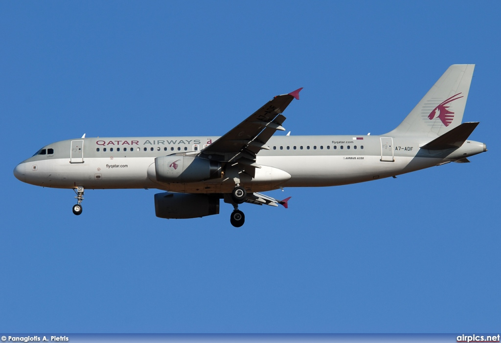 A7-ADF, Airbus A320-200, Qatar Airways