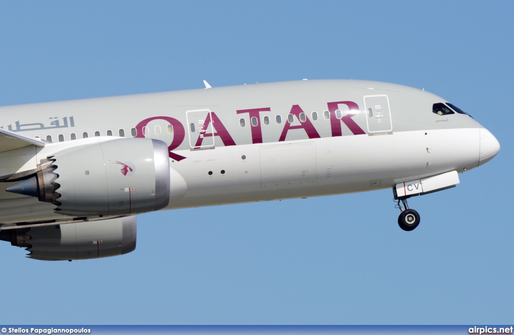 A7-BCB, Boeing 787-8 Dreamliner, Qatar Airways