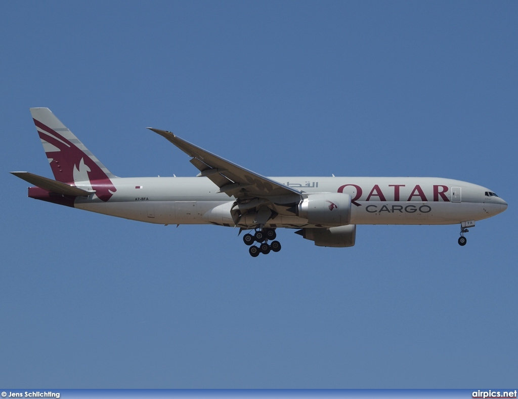 A7-BFA, Boeing 777F, Qatar Airways