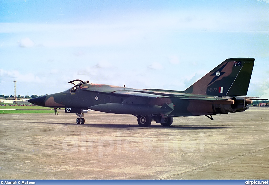 A8-127, General Dynamics F-111C, Royal Australian Air Force