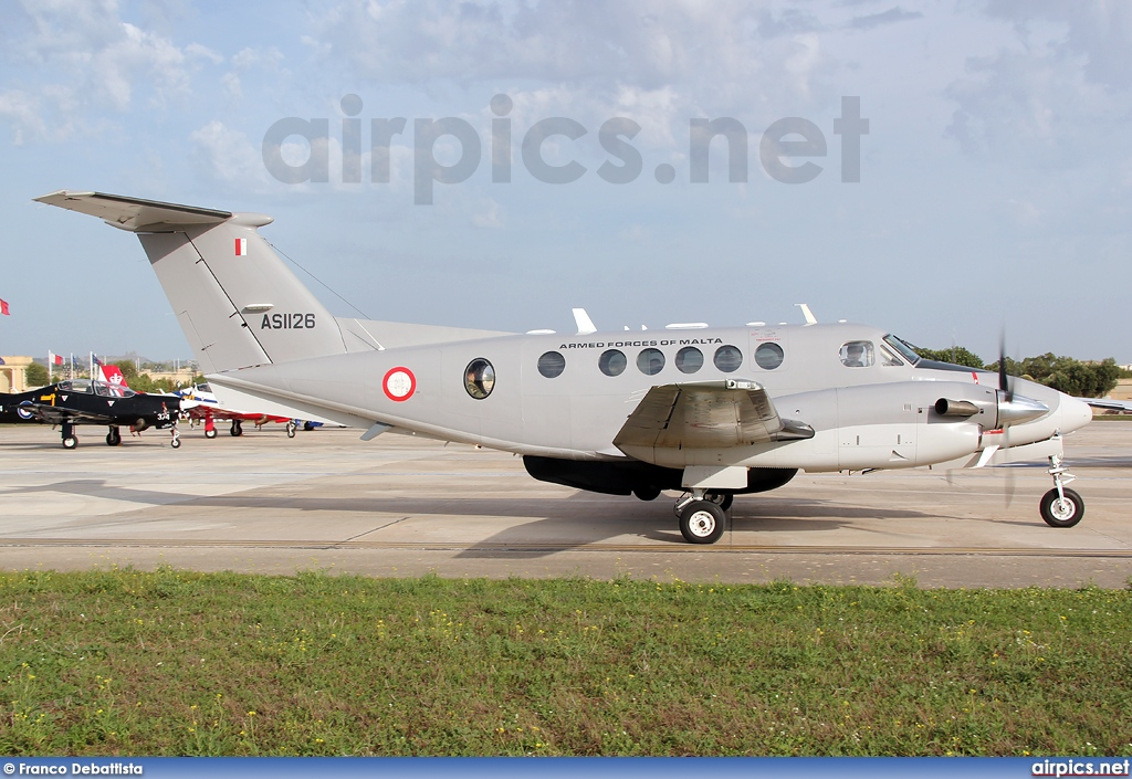 AS1126, Beechcraft B200 King Air, Malta Air Force