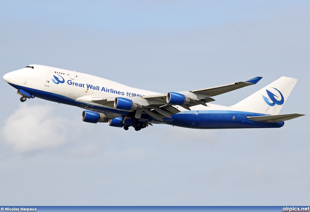 B-2430, Boeing 747-400(BCF), Great Wall Airlines