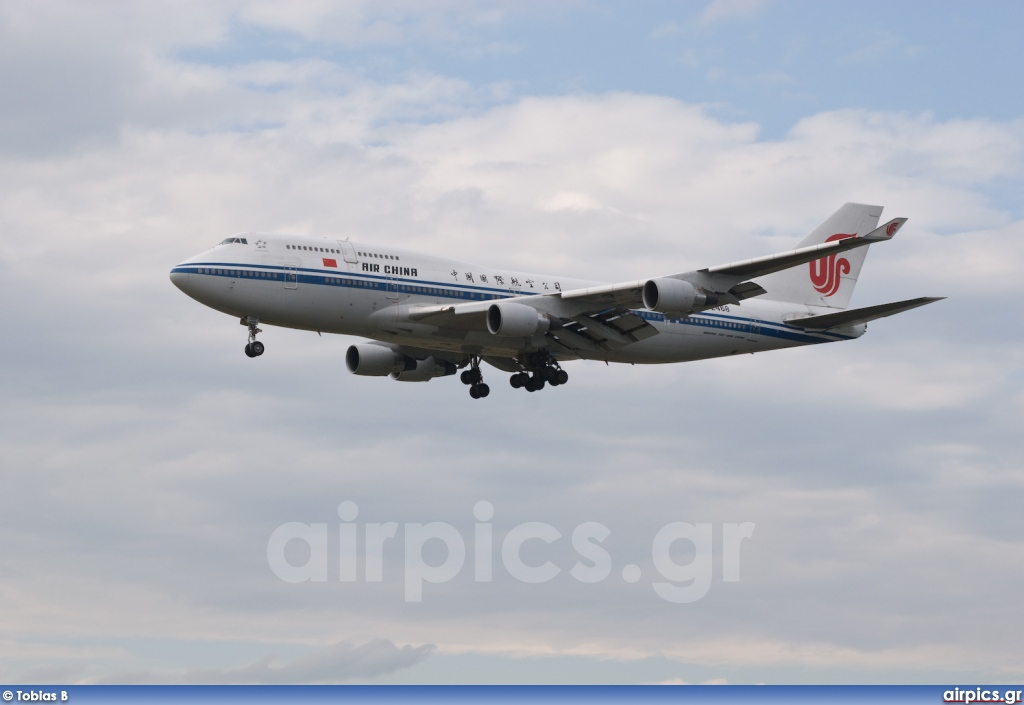 B-2468, Boeing 747-400M, Air China