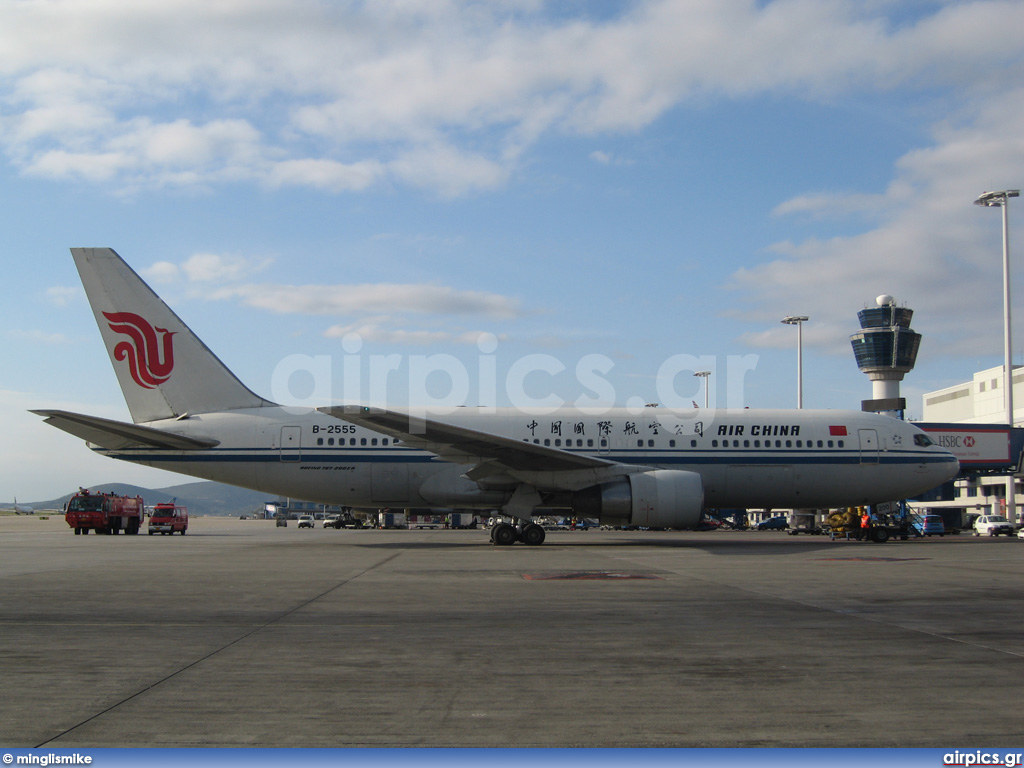 B-2555, Boeing 767-200ER, Air China