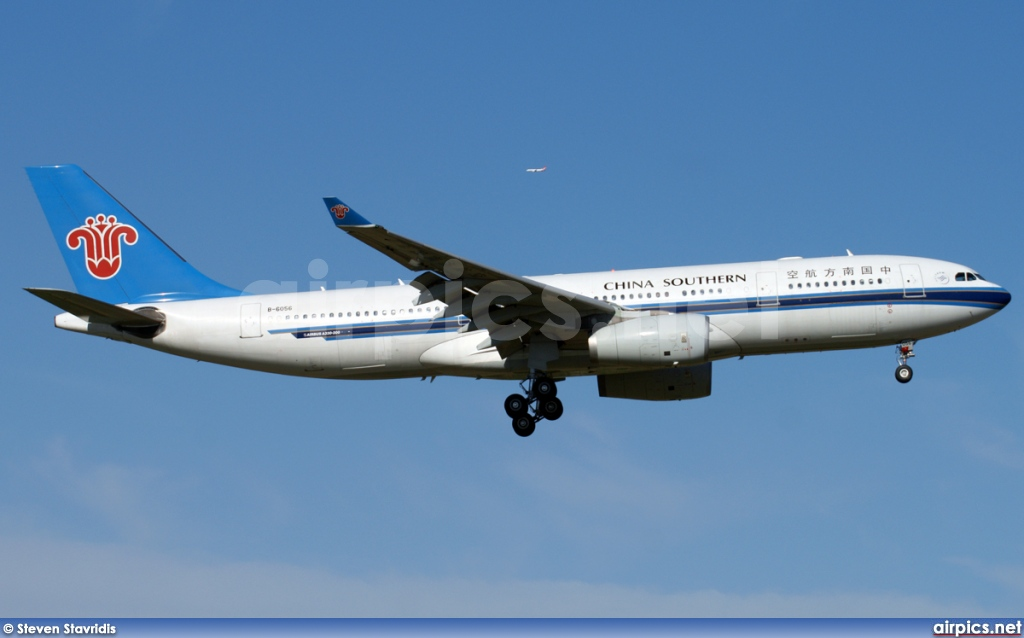 B-6056, Airbus A330-200, China Southern Airlines