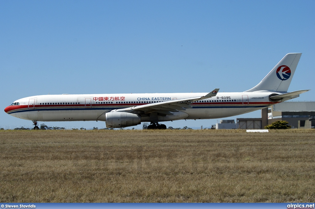 B-6095, Airbus A330-300, China Eastern