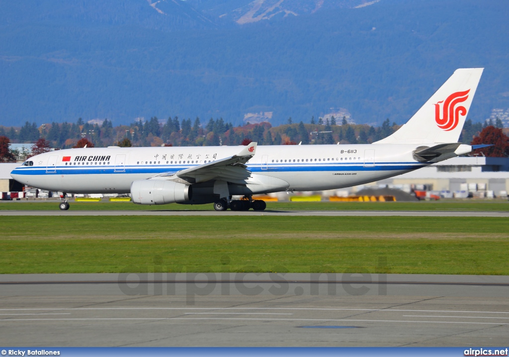B-6113, Airbus A330-200, Air China