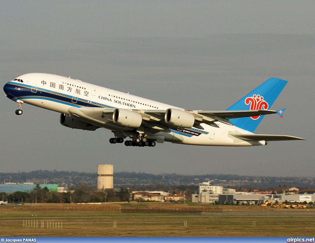 Download this Airbus China Southern Airlines picture