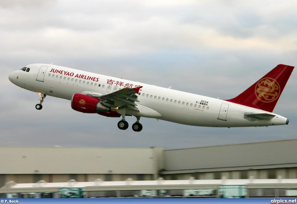 B-6340, Airbus A320-200, Juneyao Airlines