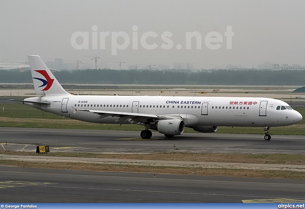 B-6368, Airbus A321-200, China Eastern
