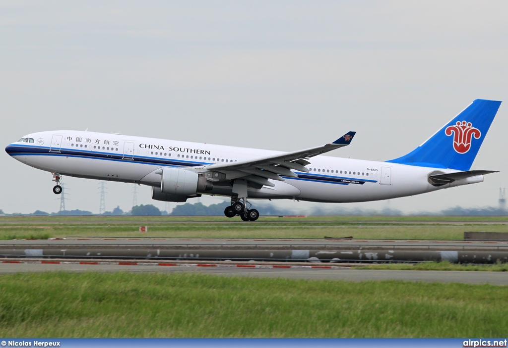B-6515, Airbus A330-200, China Southern Airlines