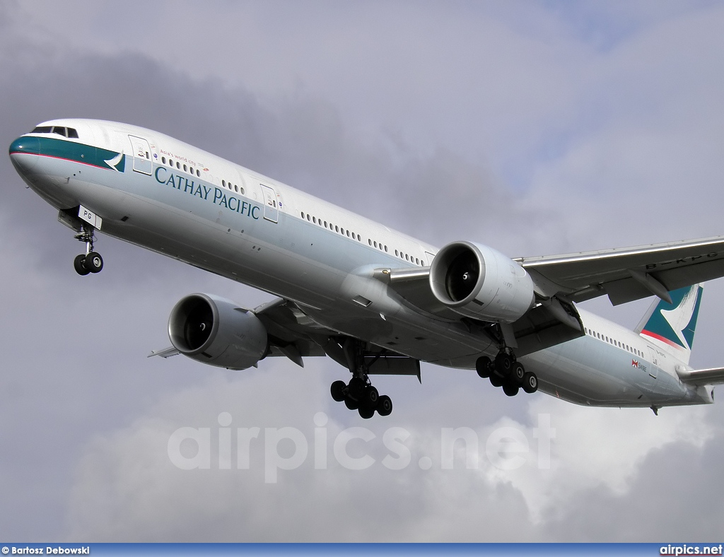 B-KPG, Boeing 777-300ER, Cathay Pacific