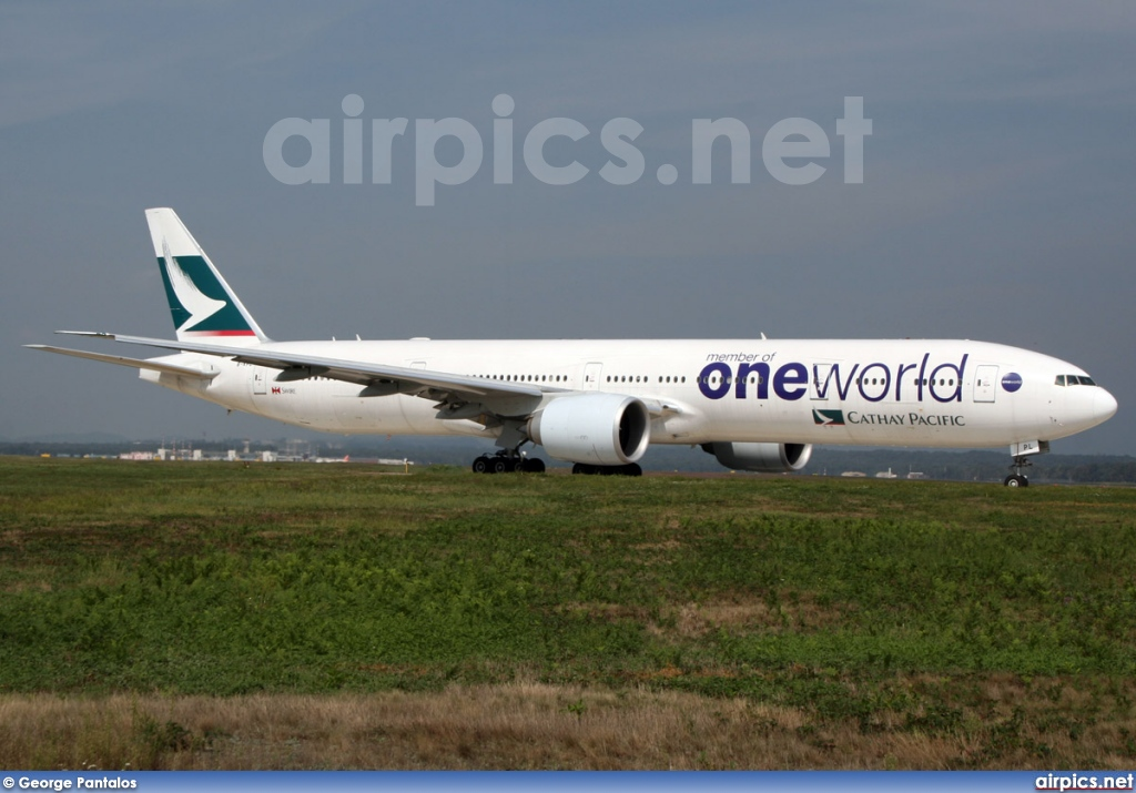 B-KPL, Boeing 777-300ER, Cathay Pacific