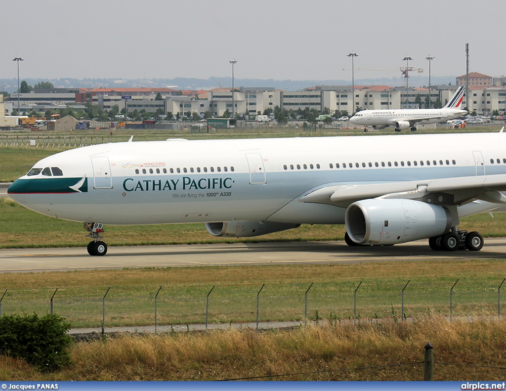 B-LBB, Airbus A330-300, Cathay Pacific
