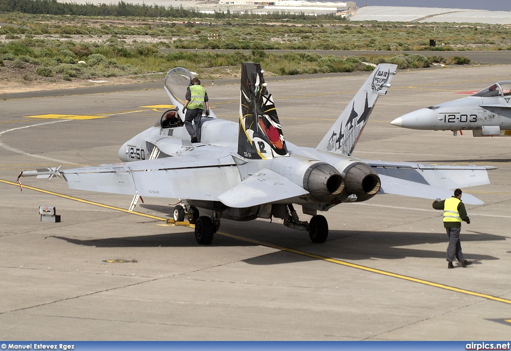 C.15-34, Boeing (McDonnell Douglas) F/A-18A Hornet, Spanish Air Force