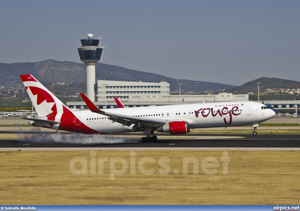 C-FMXC, Boeing 767-300ER, Air Canada Rouge