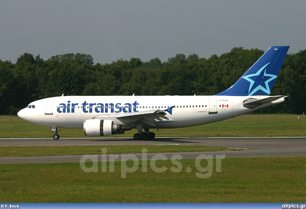 airpics net c glat airbus a310 300 air transat large size