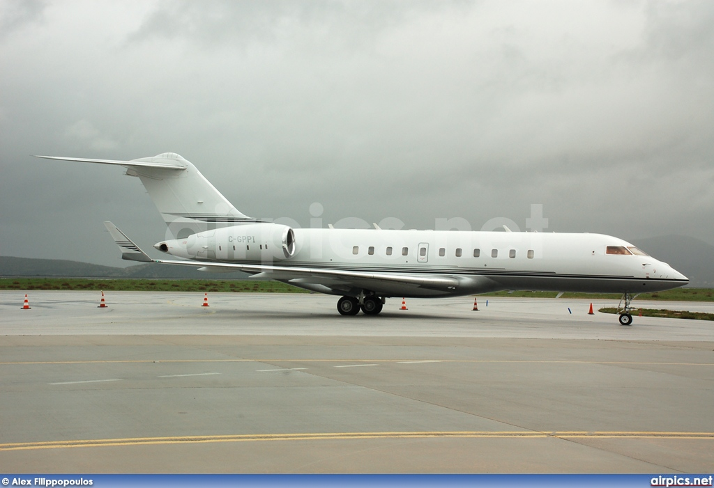 C-GPPI, Bombardier Global 5000, Private