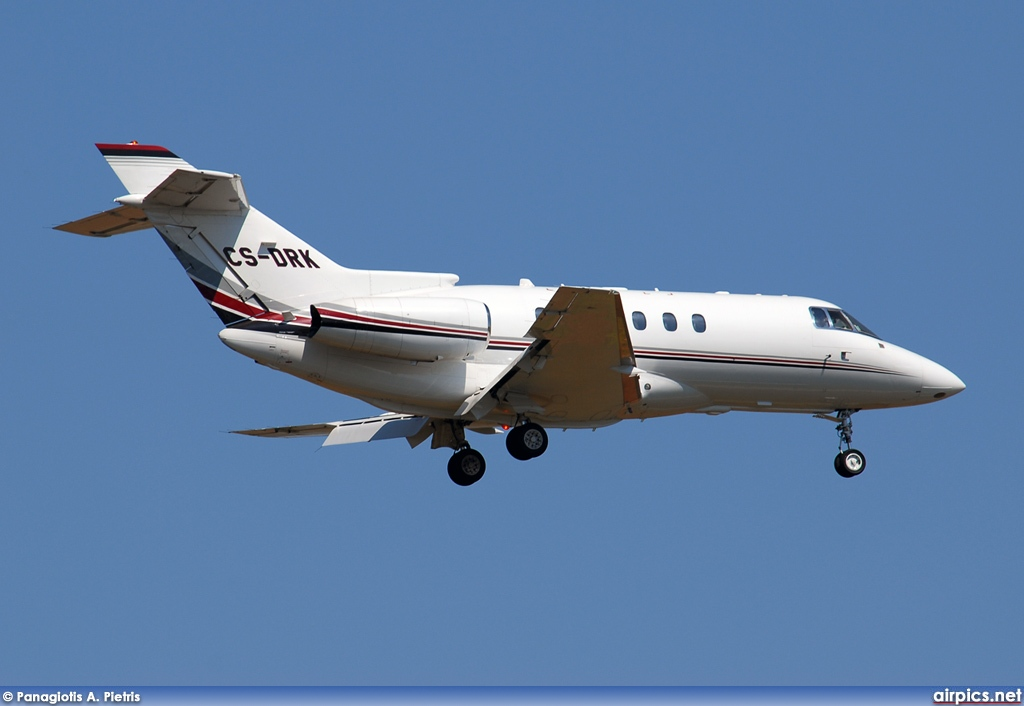 CS-DRK, Hawker 800XP, NetJets Europe