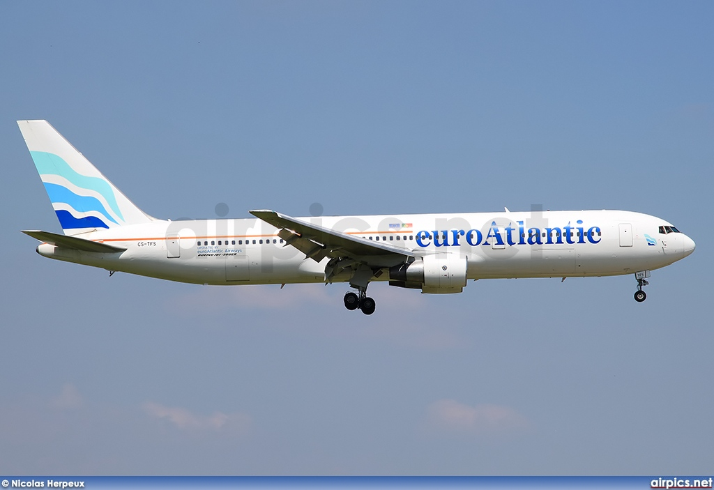 CS-TFS, Boeing 767-300ER, EuroAtlantic Airways