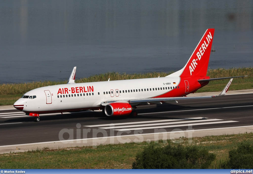 D-ABBX, Boeing 737-800, Air Berlin