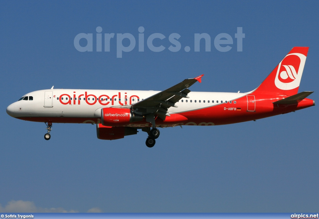 D-ABFB, Airbus A320-200, Air Berlin