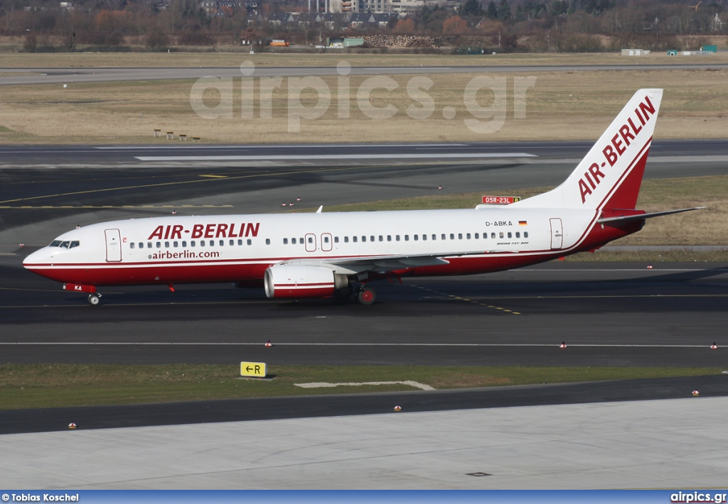 D-ABKA, Boeing 737-800, Air Berlin