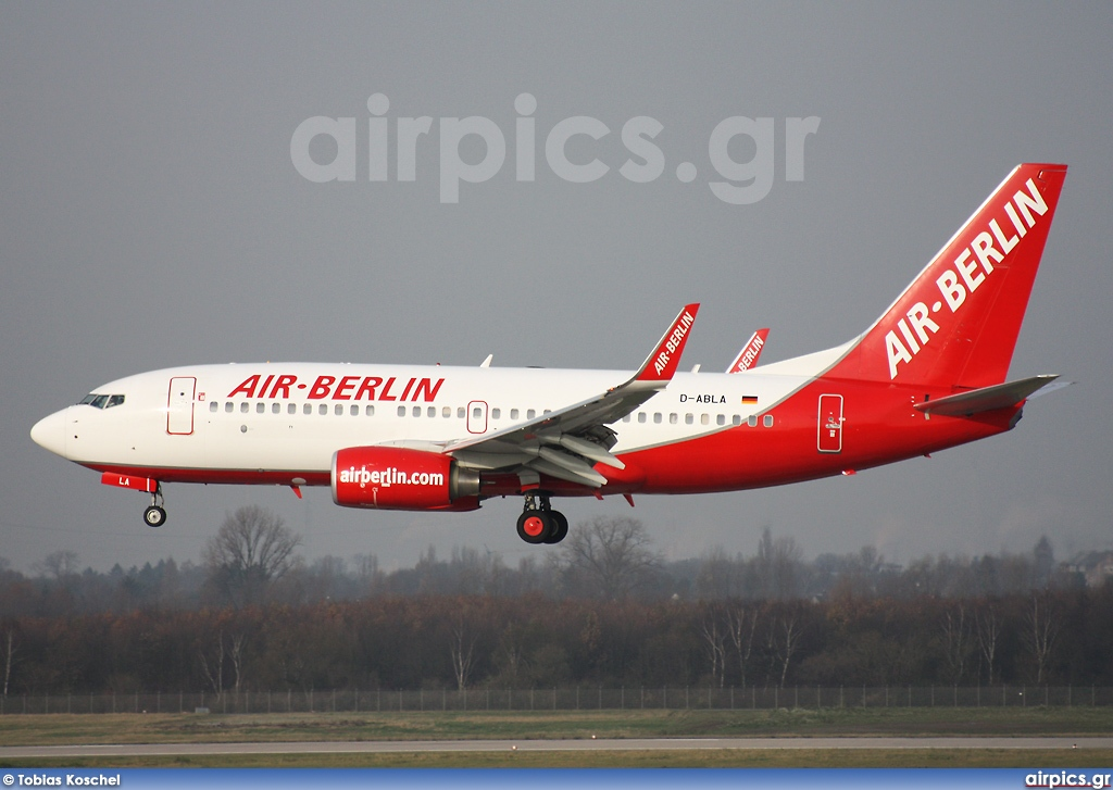 D-ABLA, Boeing 737-700, Air Berlin
