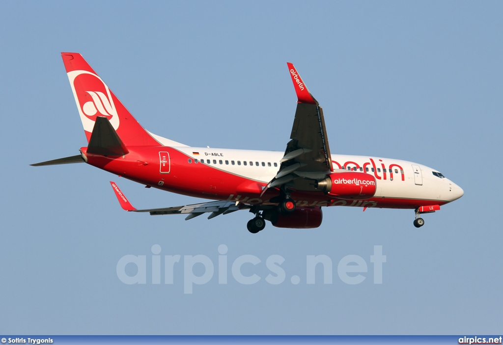 D-ABLE, Boeing 737-700, Air Berlin