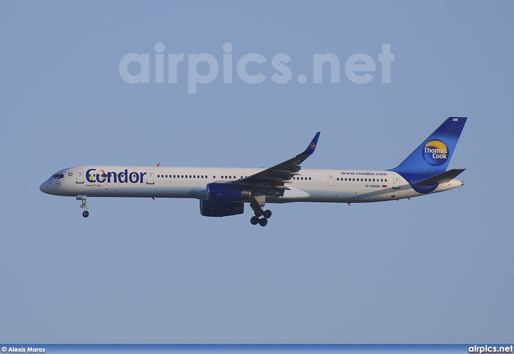 D-ABOK, Boeing 757-300, Condor Airlines