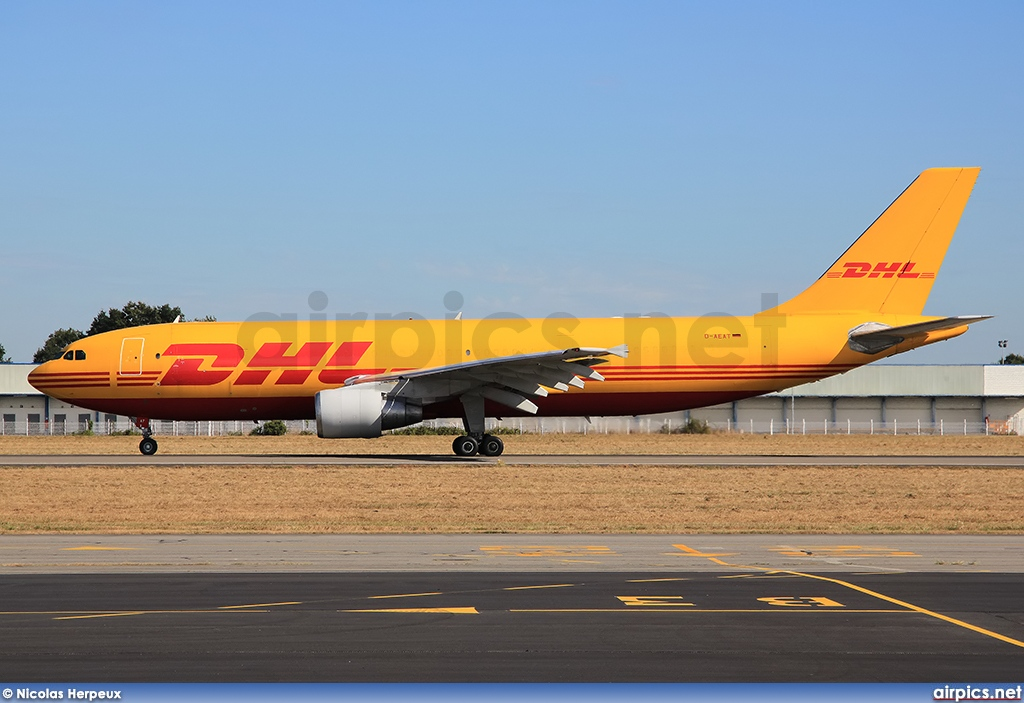 D-AEAT, Airbus A300B4-600RF, European Air Transport (DHL)