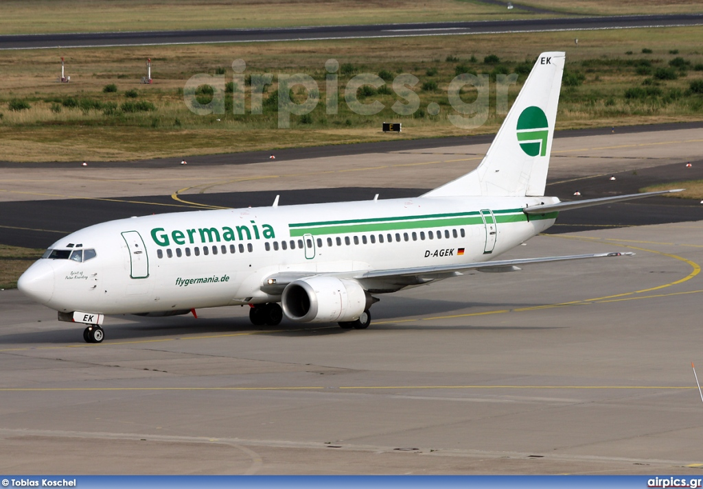 D-AGEK, Boeing 737-300, Germania
