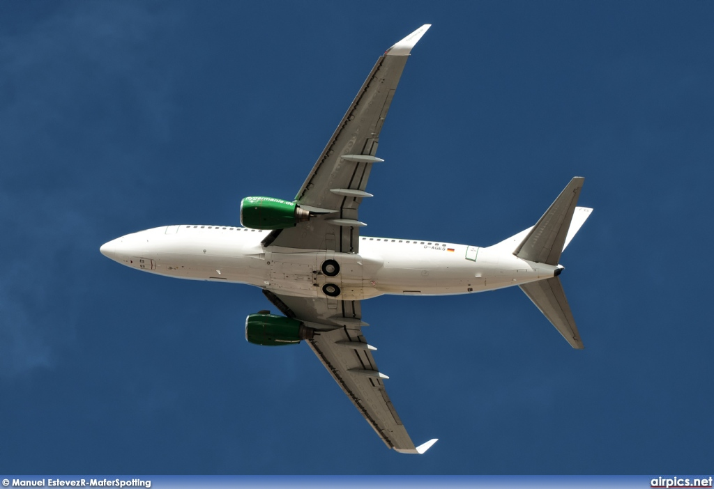 D-AGES, Boeing 737-700, Germania