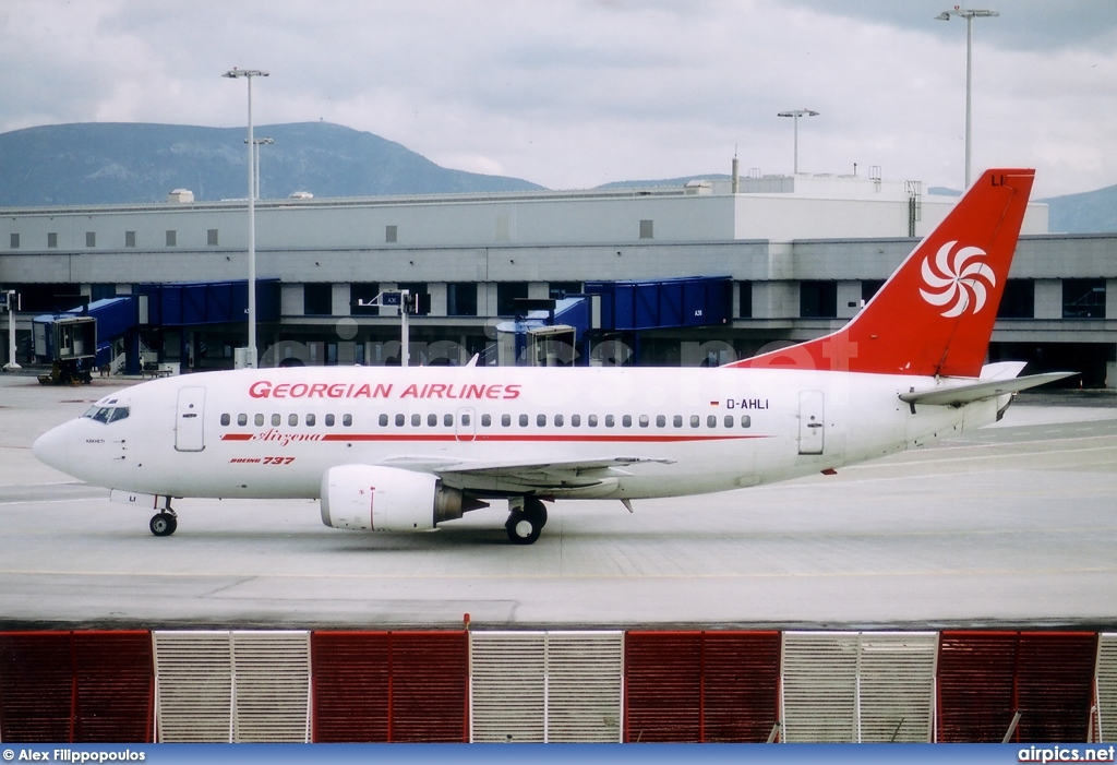 D-AHLI, Boeing 737-500, Georgian Airways