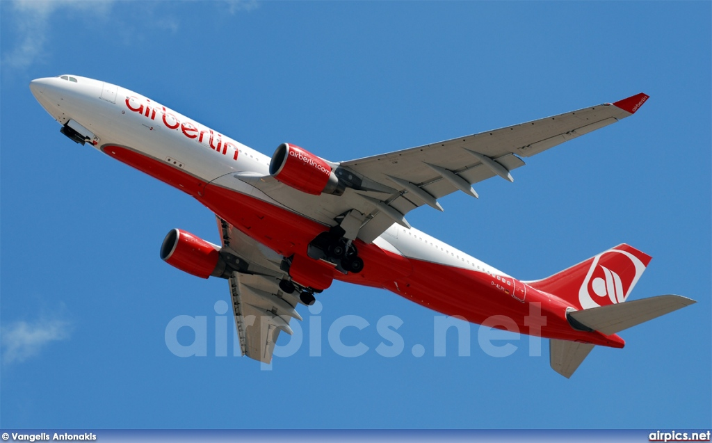D-ALPI, Airbus A330-200, Air Berlin