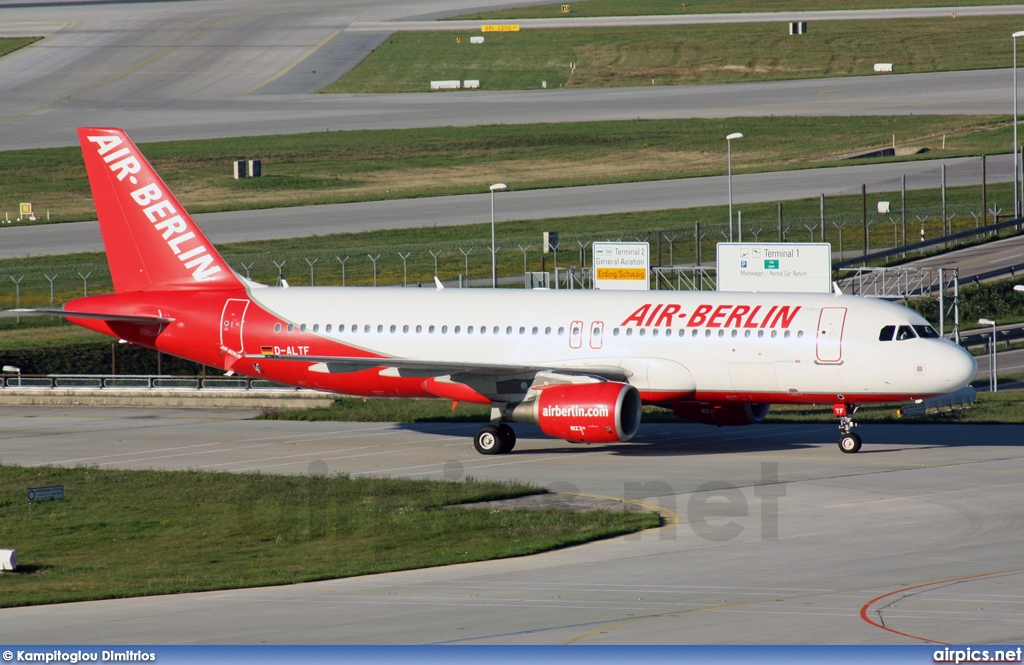 D-ALTF, Airbus A320-200, Air Berlin