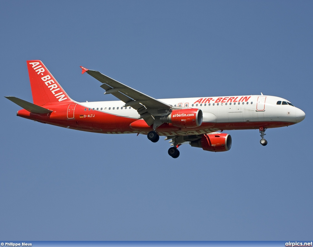 D-ALTJ, Airbus A320-200, Air Berlin