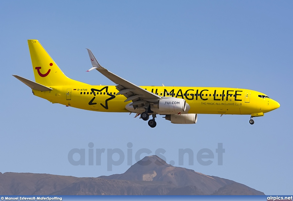D-ATUG, Boeing 737-800, TUIfly