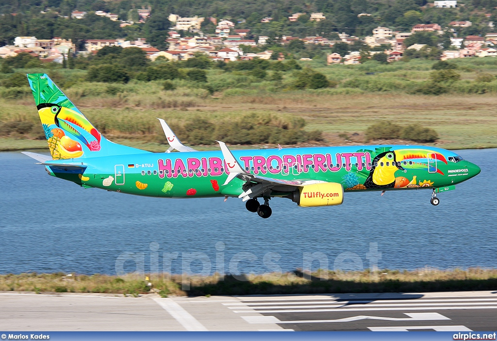 D-ATUJ, Boeing 737-800, TUIfly