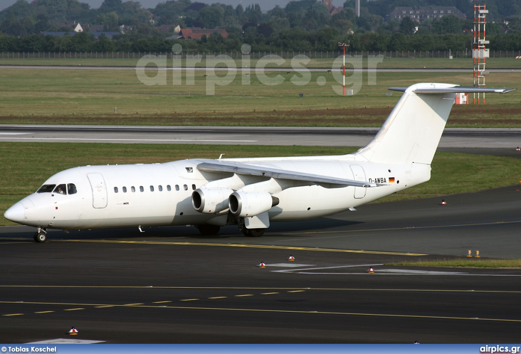 D-AWBA, British Aerospace BAe 146-300, WDL Aviation