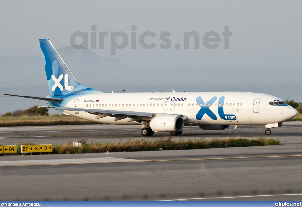 D-AXLG, Boeing 737-800, XL Airways Germany
