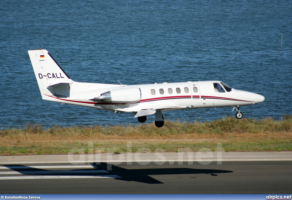 D-CALL, Cessna 550 Citation Bravo, Private