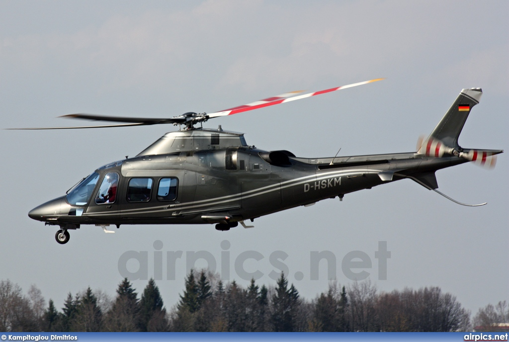 D-HSKM, Agusta A109S Grand, Helicopter Travel Munich (HTM)