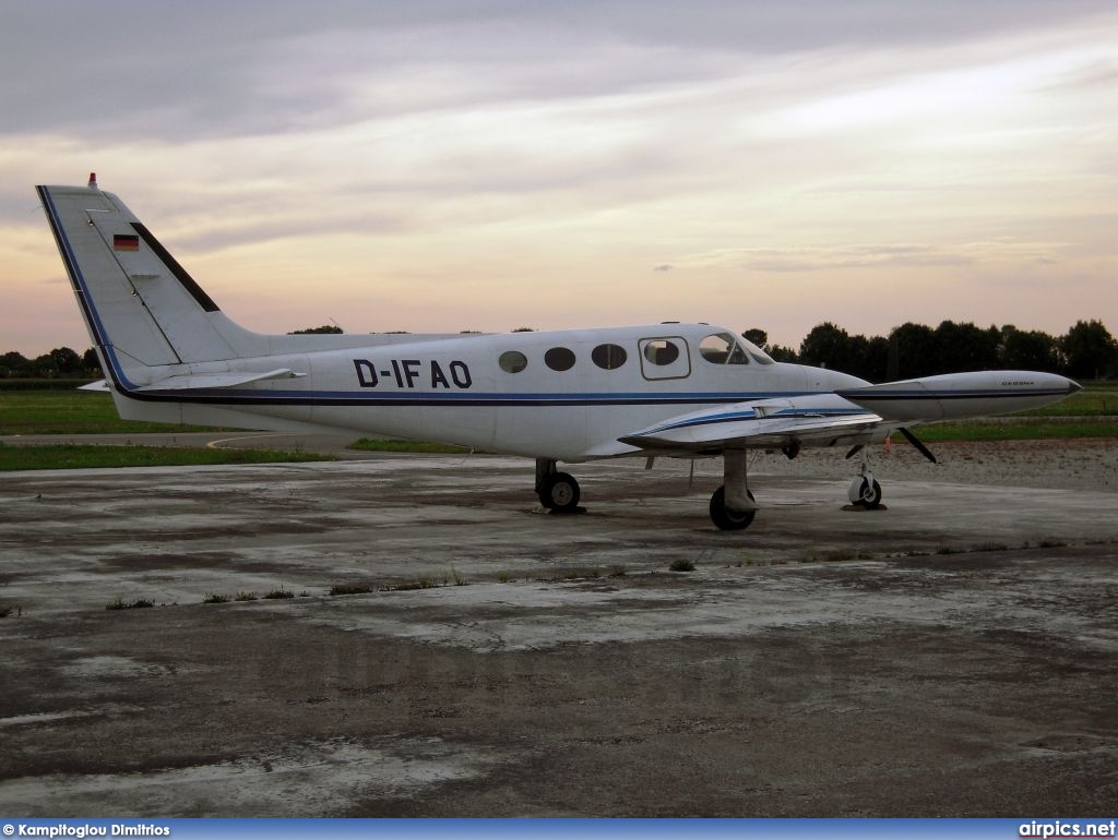 D-IFAO, Cessna 340A, Private