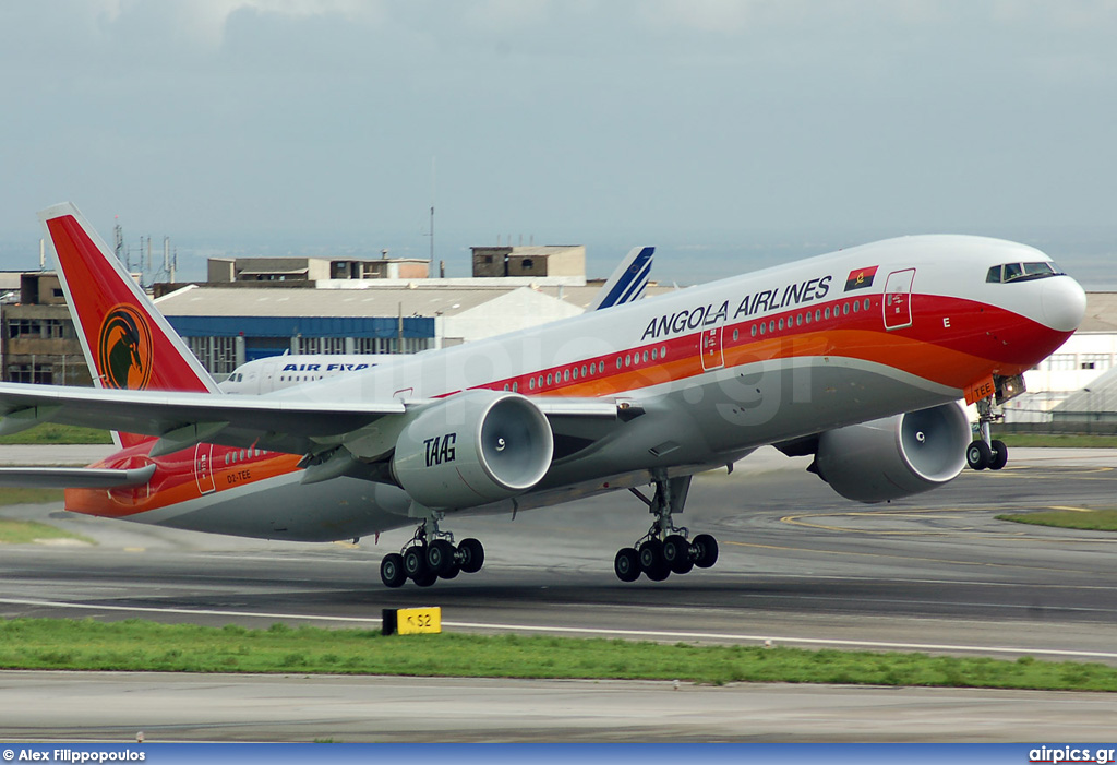 D2-TEE, Boeing 777-200ER, TAAG Angola Airlines